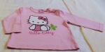 Langarmshirt Gr. 68 von Hello Kitty (5783)