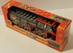 "DICKIE Tourist Bus / Friktion / 29 cm ""London"" rot NEU OVP"